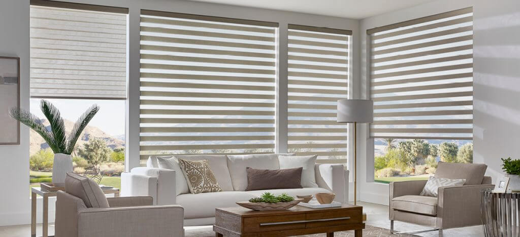 PRODUCT: DUAL SHADES MATERIAL: CINEMA, COLOR: LINEN DS4-5122