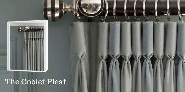 The Goblet Pleat Drapery